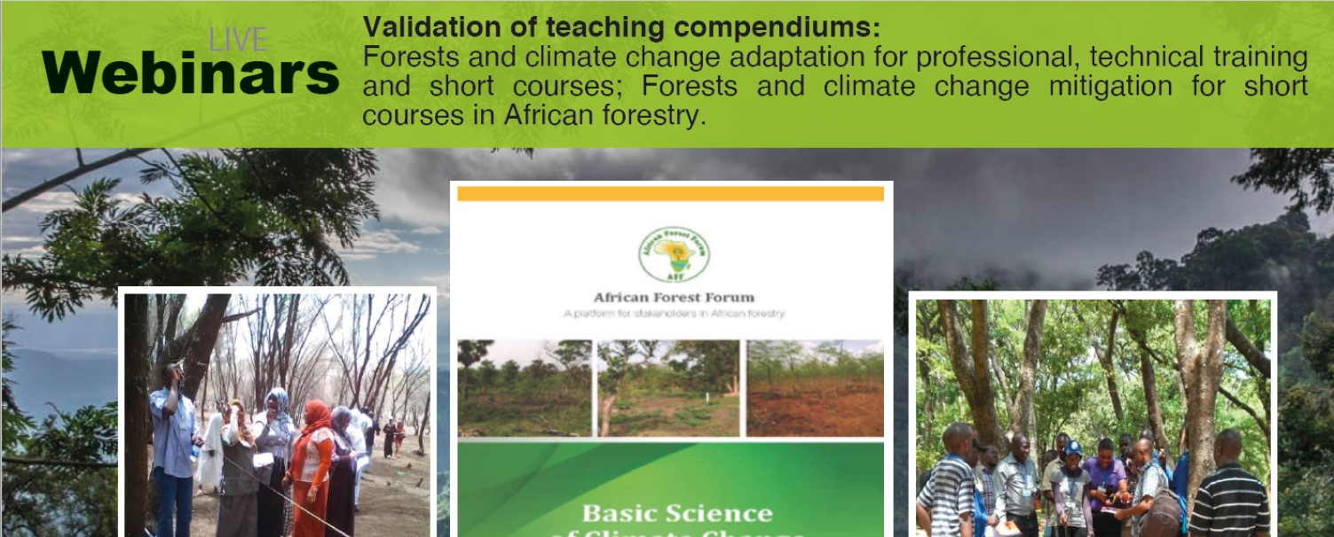 AFF Regional webinar for validation of teaching compendiums